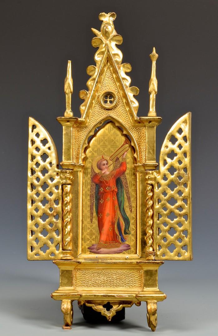 Lot 229: 3 European Ecclesiastical Items
