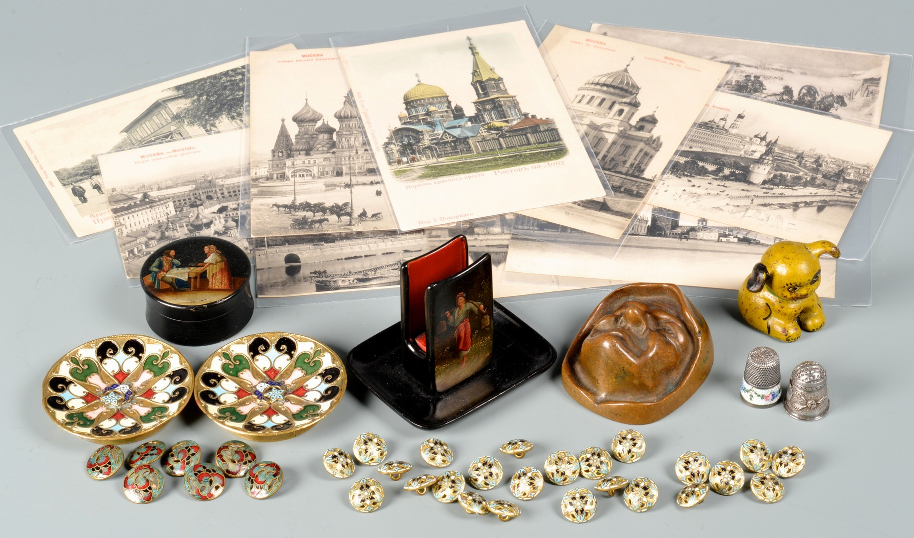 Lot 230: Group early 20th c. European & American Decorative