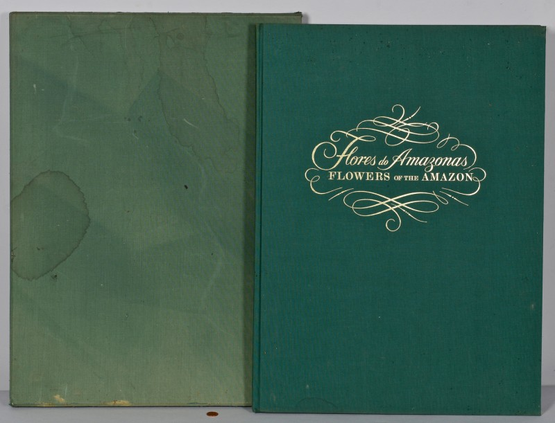 "Lot 237: ""Flores do Amazonas"" Elephant Folio, Mee"