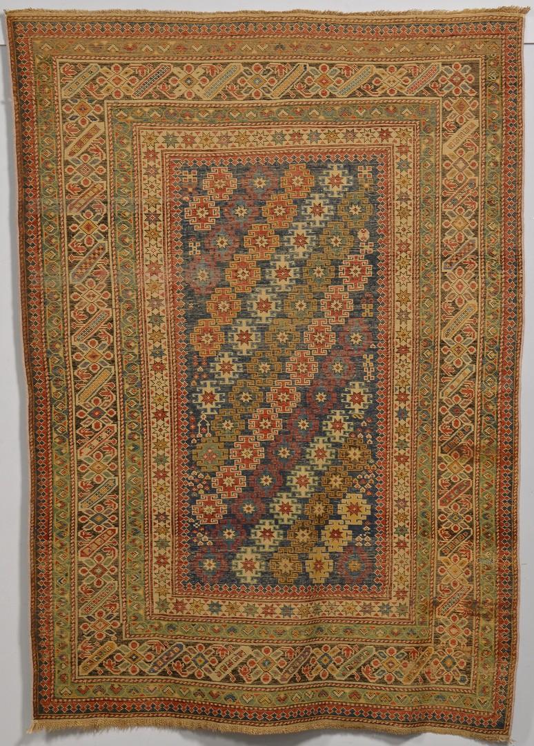 Lot 242: Antique Caucasian Chi Chi area rug