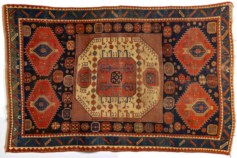 Lot 243: Caucasian Kazak Carpet