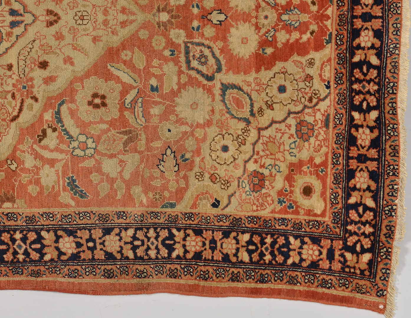 Lot 244: Mission Malayer rug, late 19th c.
