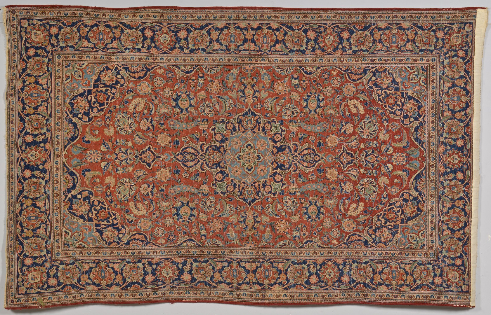 Lot 250 Persian Kashan Area Rug Early 20th C