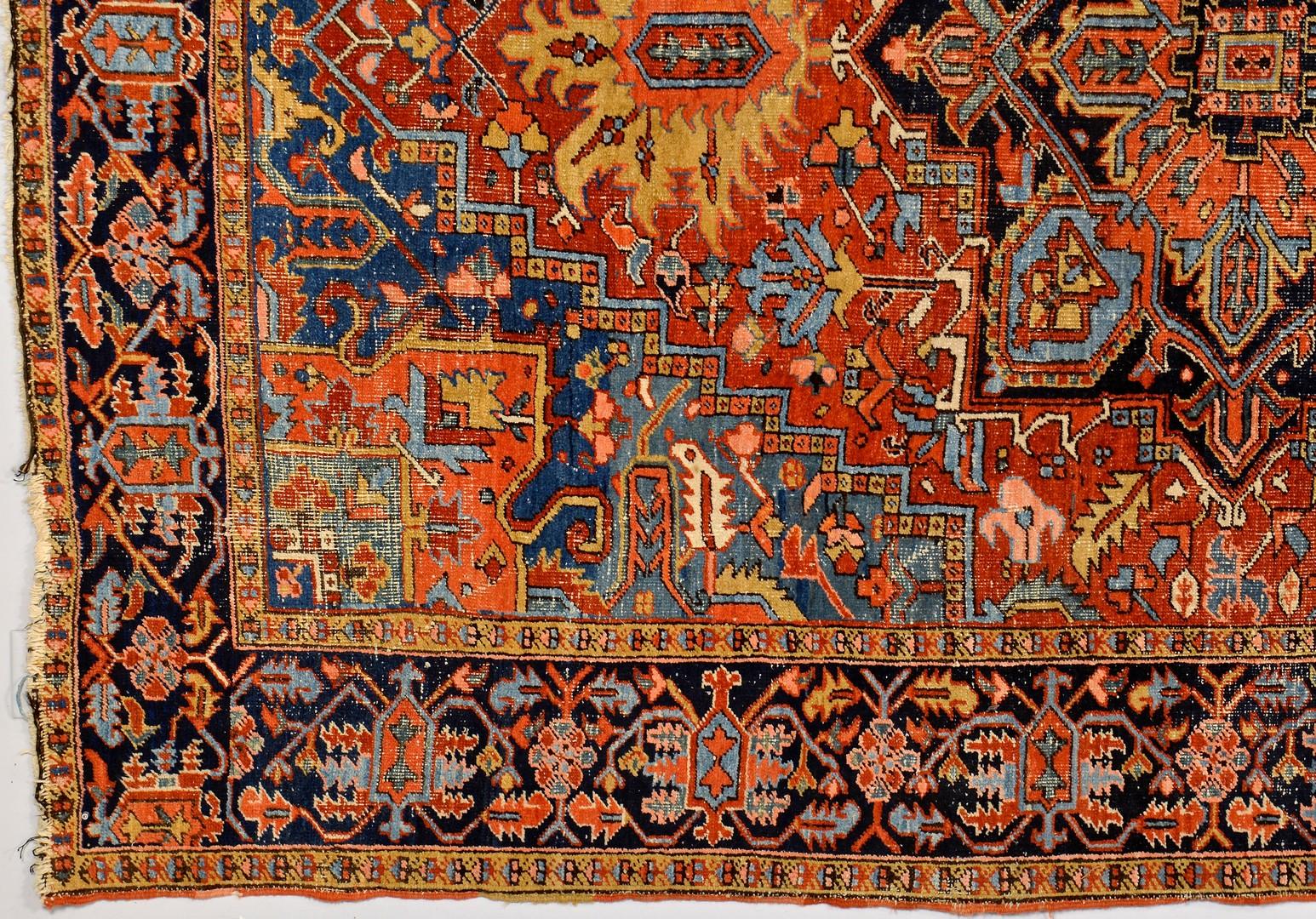 "Lot 251: Persian Tabriz or Heriz Rug, 10'8"" x 7'5"""