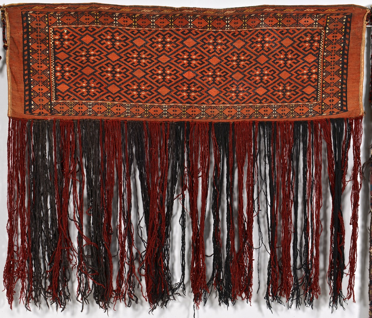 Lot 256: 2 Antique Soumak & Turkoman Bags