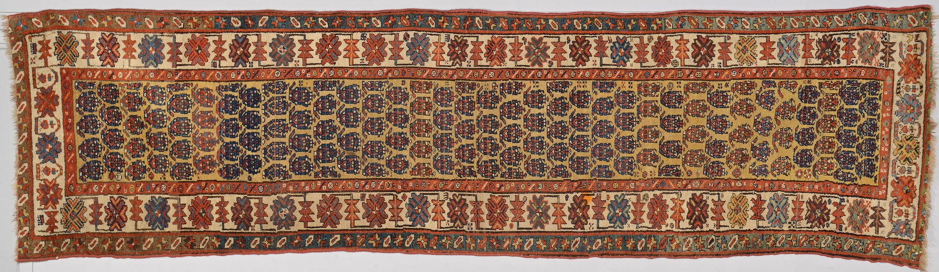 Lot 258: Antique Kurdish Runner