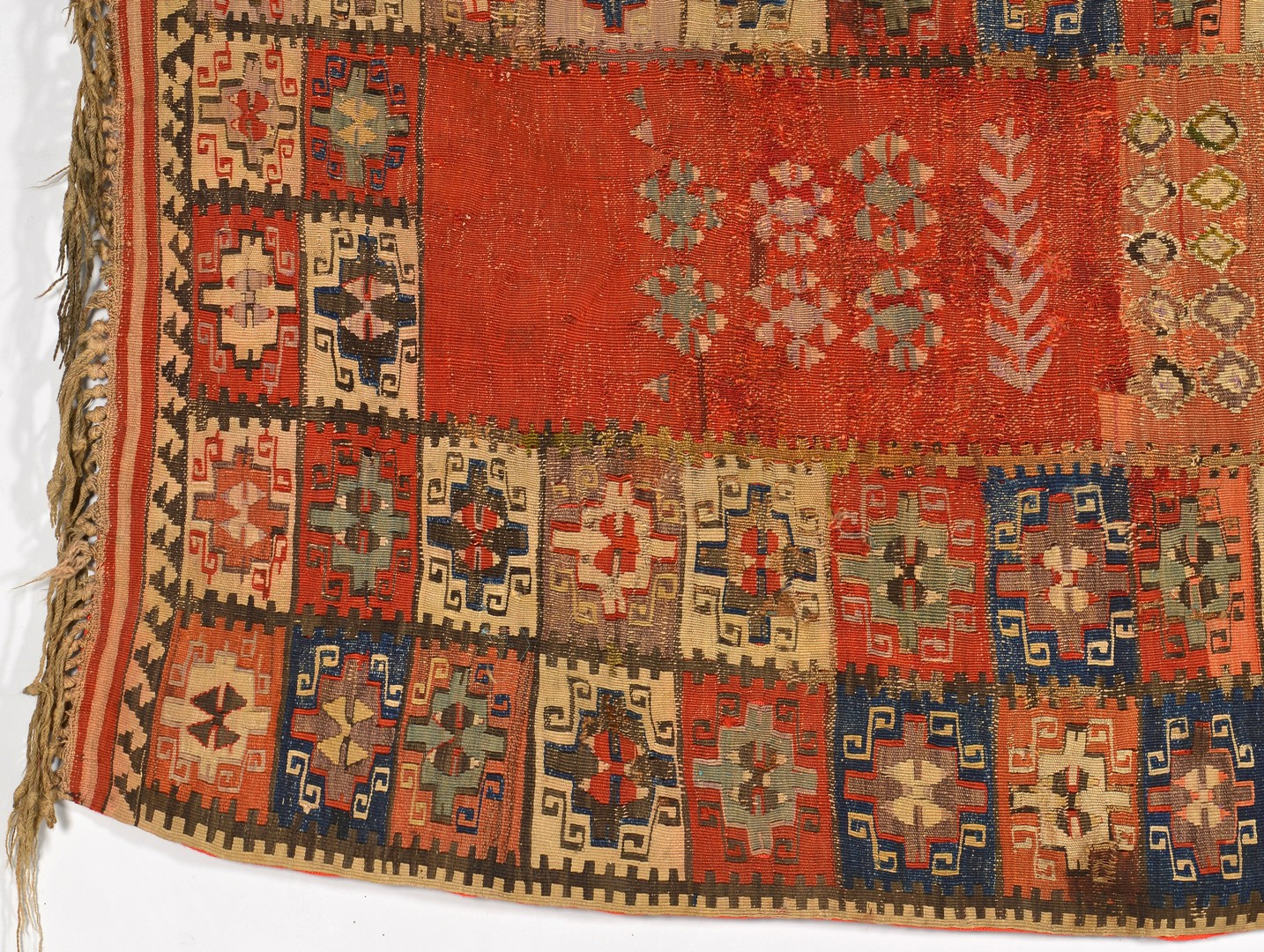 Lot 260: Antique Anatolian Kilim Prayer Rug, 19th century