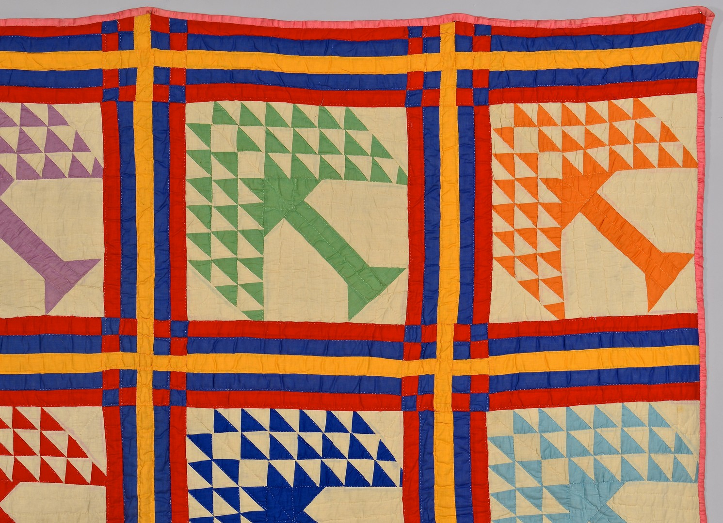 Lot 263: East TN Tree of Life Quilt w/ J. Allen Smith's Flo