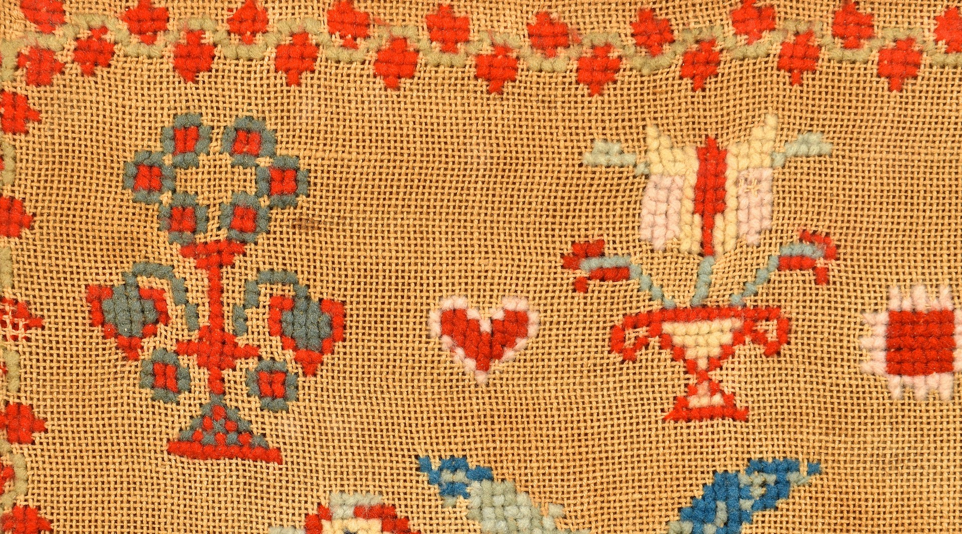 Lot 265: Blount County Wool Bird Sampler