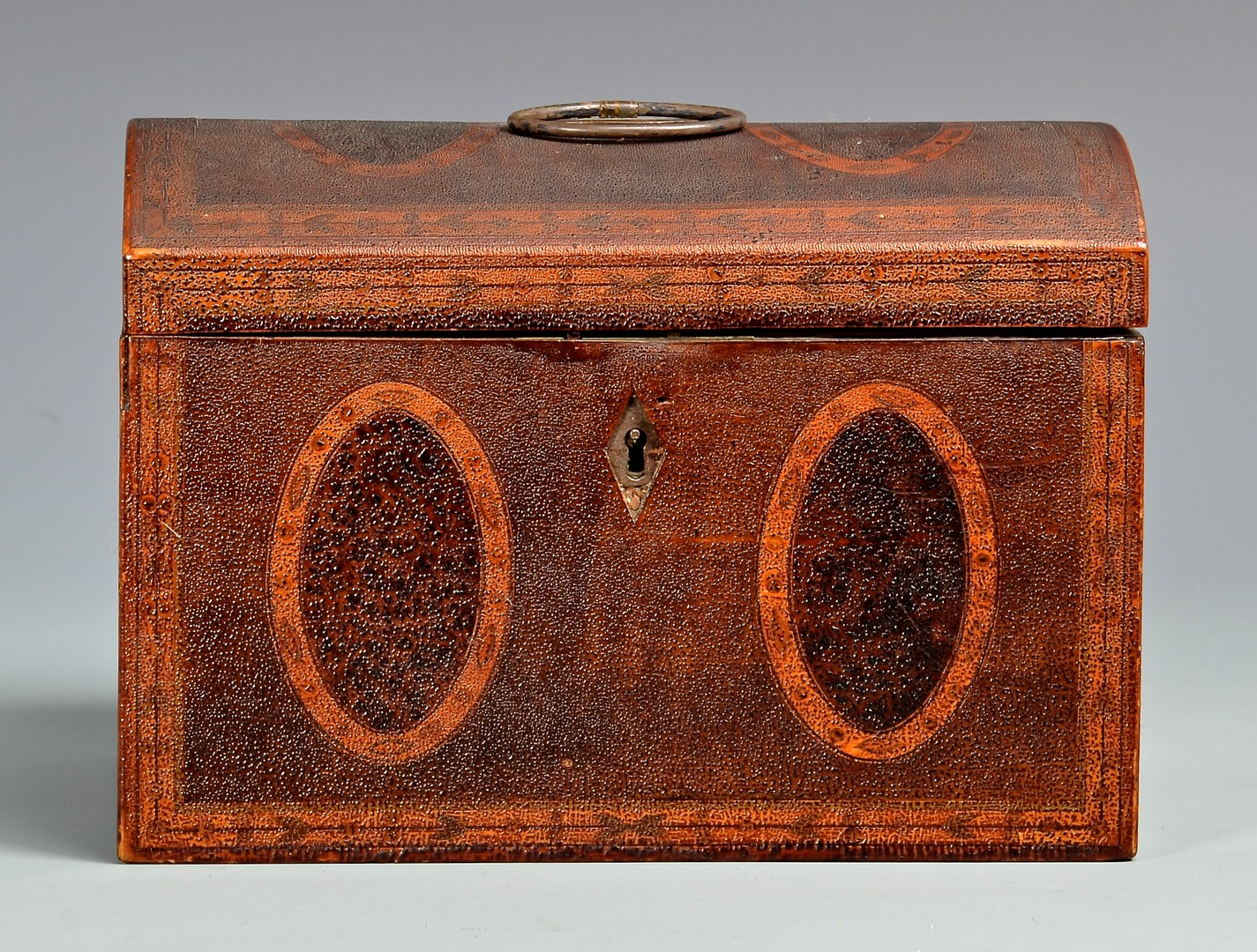 Lot 269: Southern Inlaid Tea Caddy, poss. Baltimore