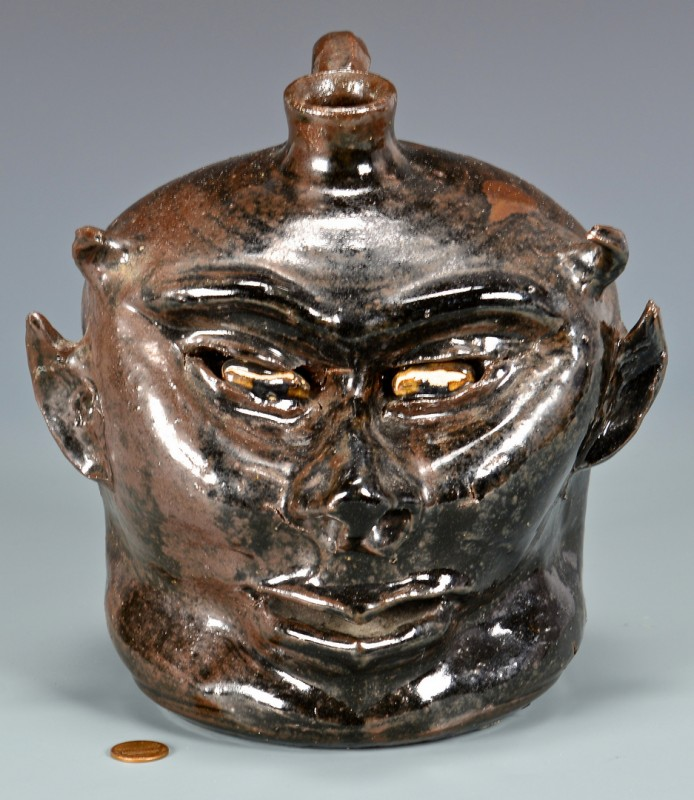 Lot 282: Lanier Meaders Devil Jug