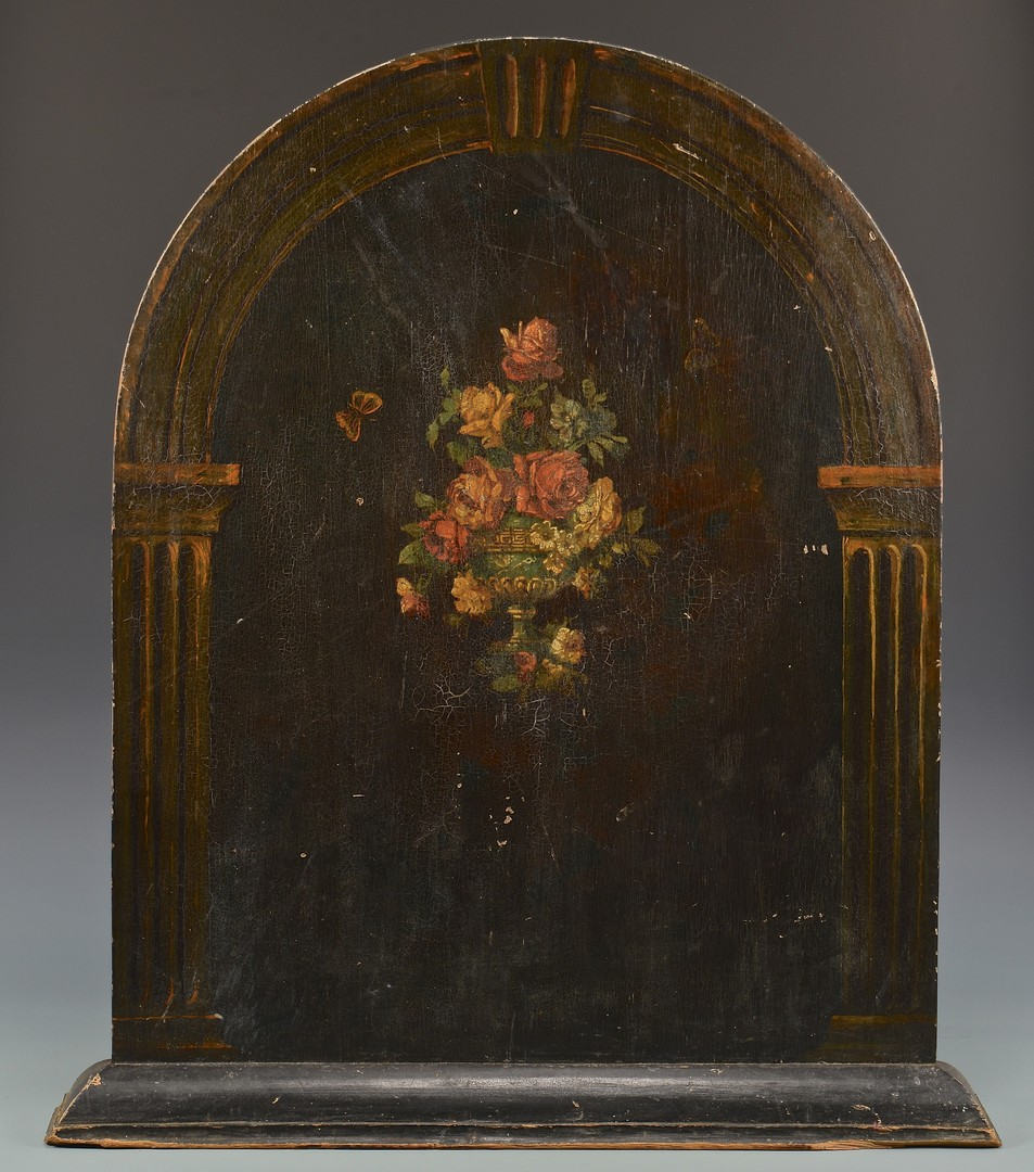 Lot 285: Group of Assembled Hearth Decorative Items
