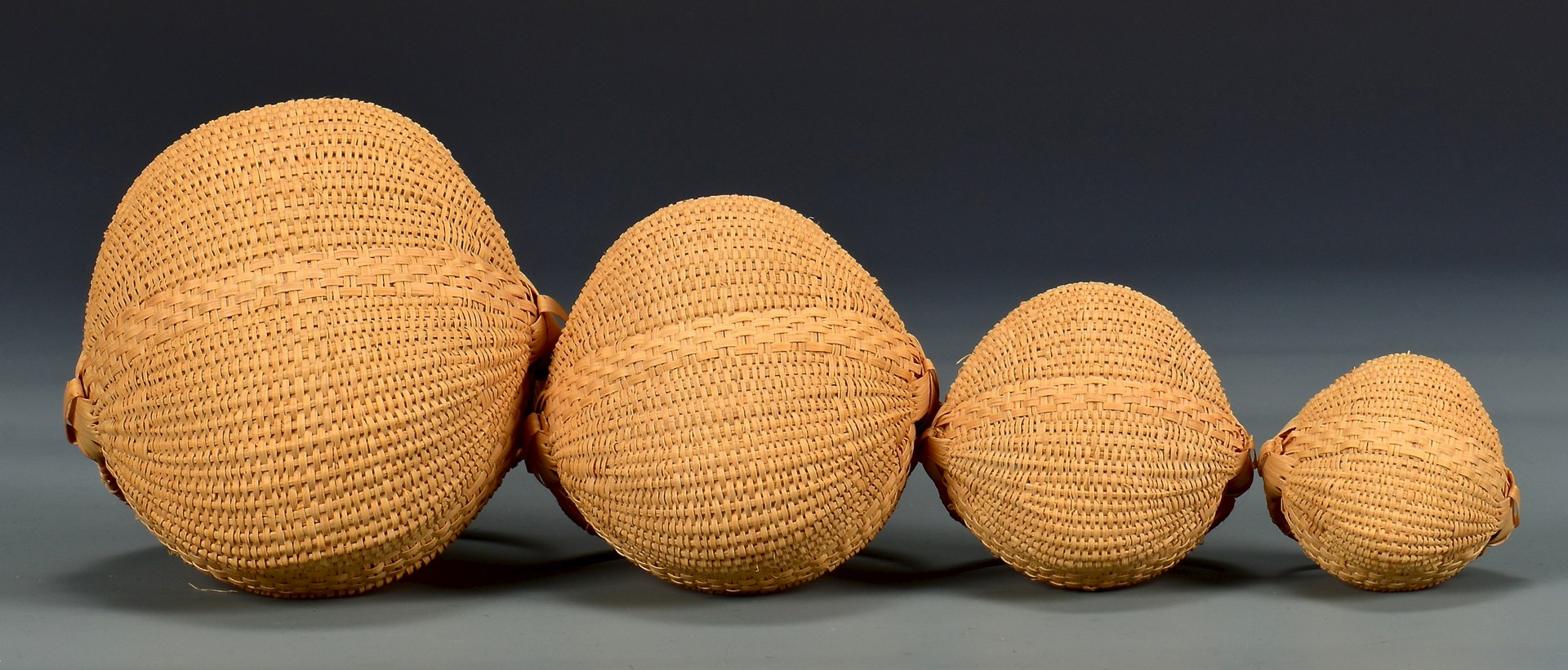 Lot 289: 6 Mary Prater Buttocks Baskets