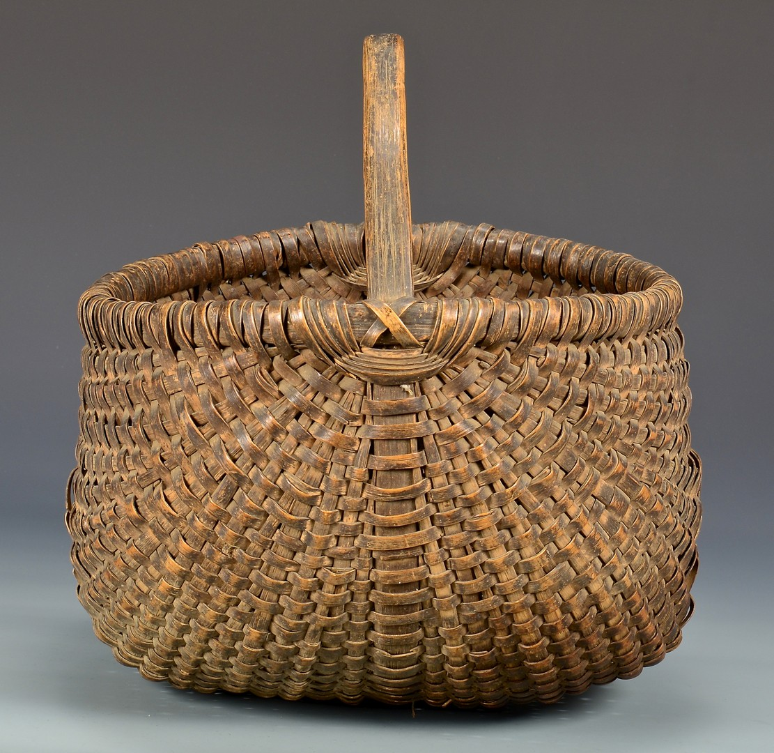 Lot 290: 3 East TN Buttocks Baskets