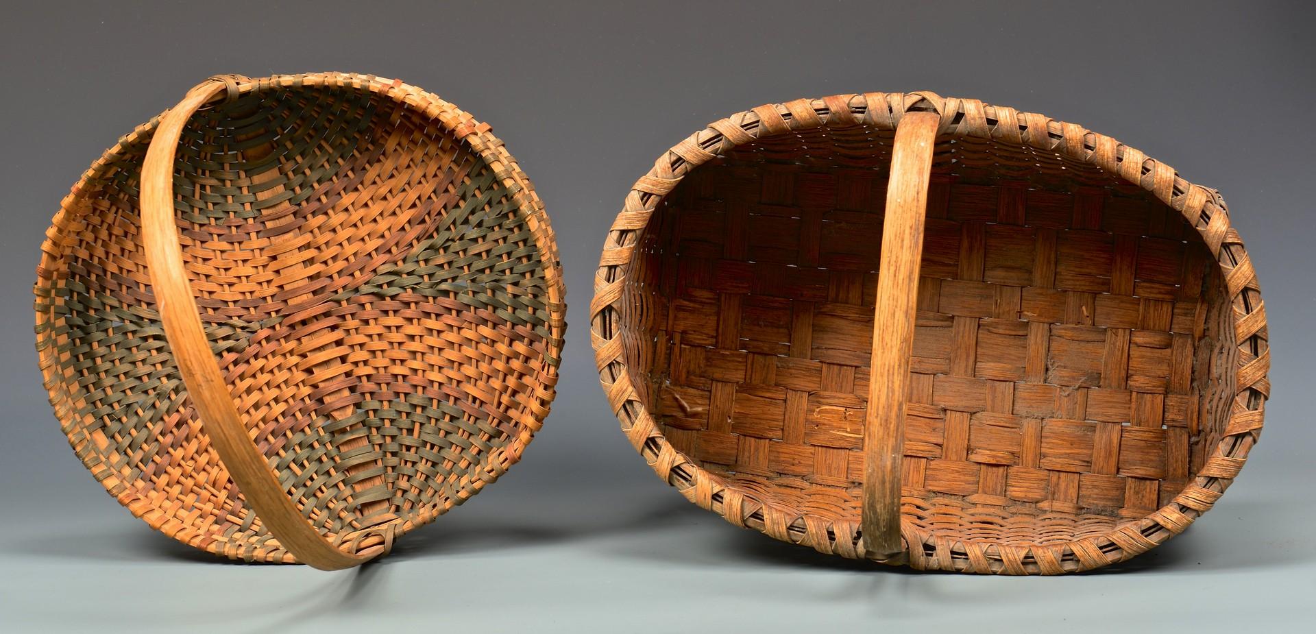 Lot 291: 4 Appalachian Split Oak Baskets