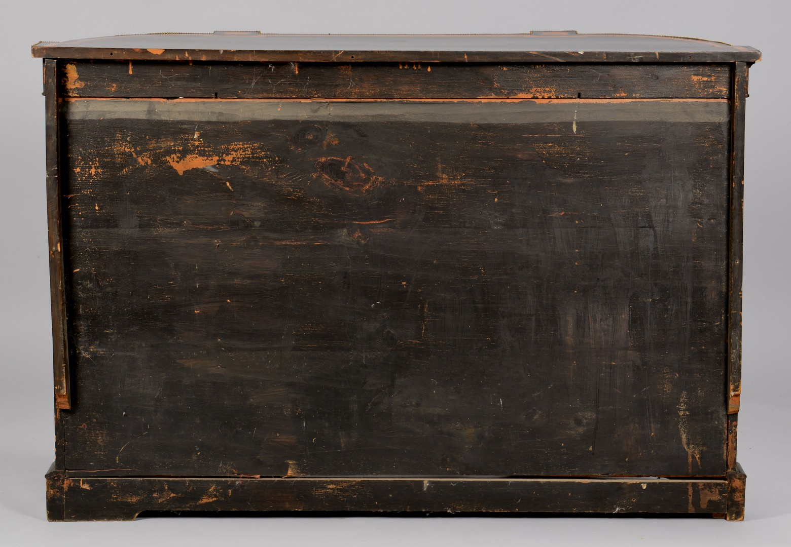 Lot 296: Aesthetic Movement Credenza w/ Wedgwood Plaque