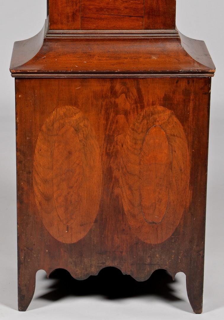 Lot 298: L.W. Lewis Tall Case Clock, Trumbull Co. Ohio