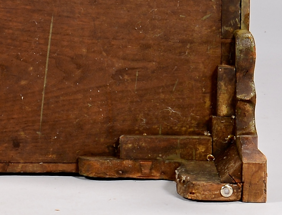 Lot 306: East TN Walnut Chest of Drawers, Ogee Feet