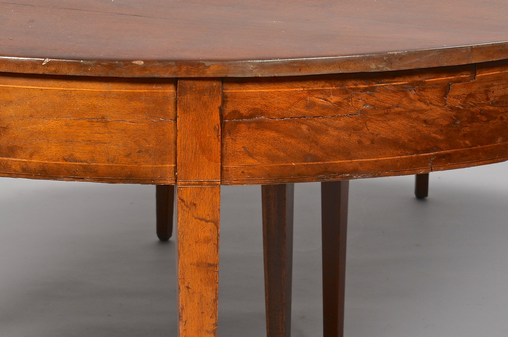 Lot 307: Greene Co. TN Hepplewhite Dining Room Table