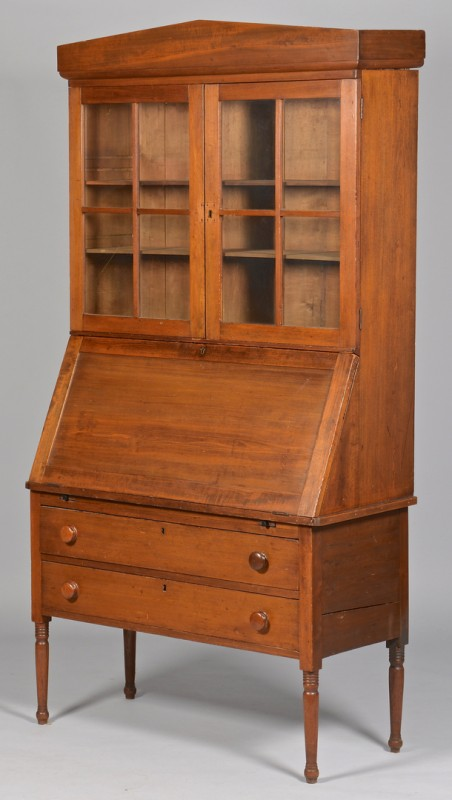 Lot 313: Alabama Desk and Bookcase
