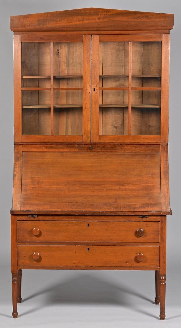 Lot 313: Alabama Desk and Bookcase