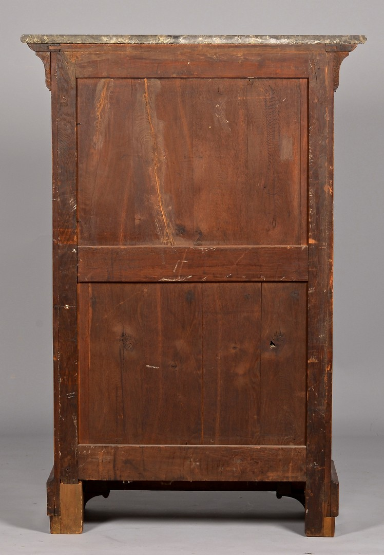 Lot 323: French Mahogany Secretaire Abattant, Empire Style