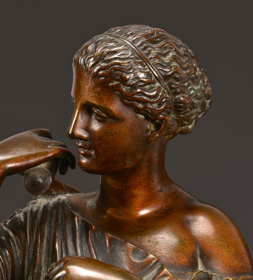 Lot 330: French Bronze Classical Figure Sculpture, Sauvage