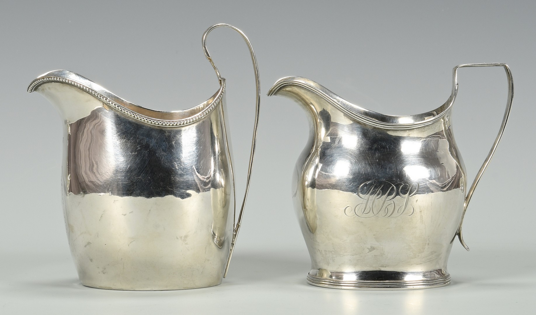 Lot 339: Grouping of Georgian Silver