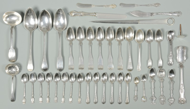 Lot 340: Assorted World Silver inc. Irish