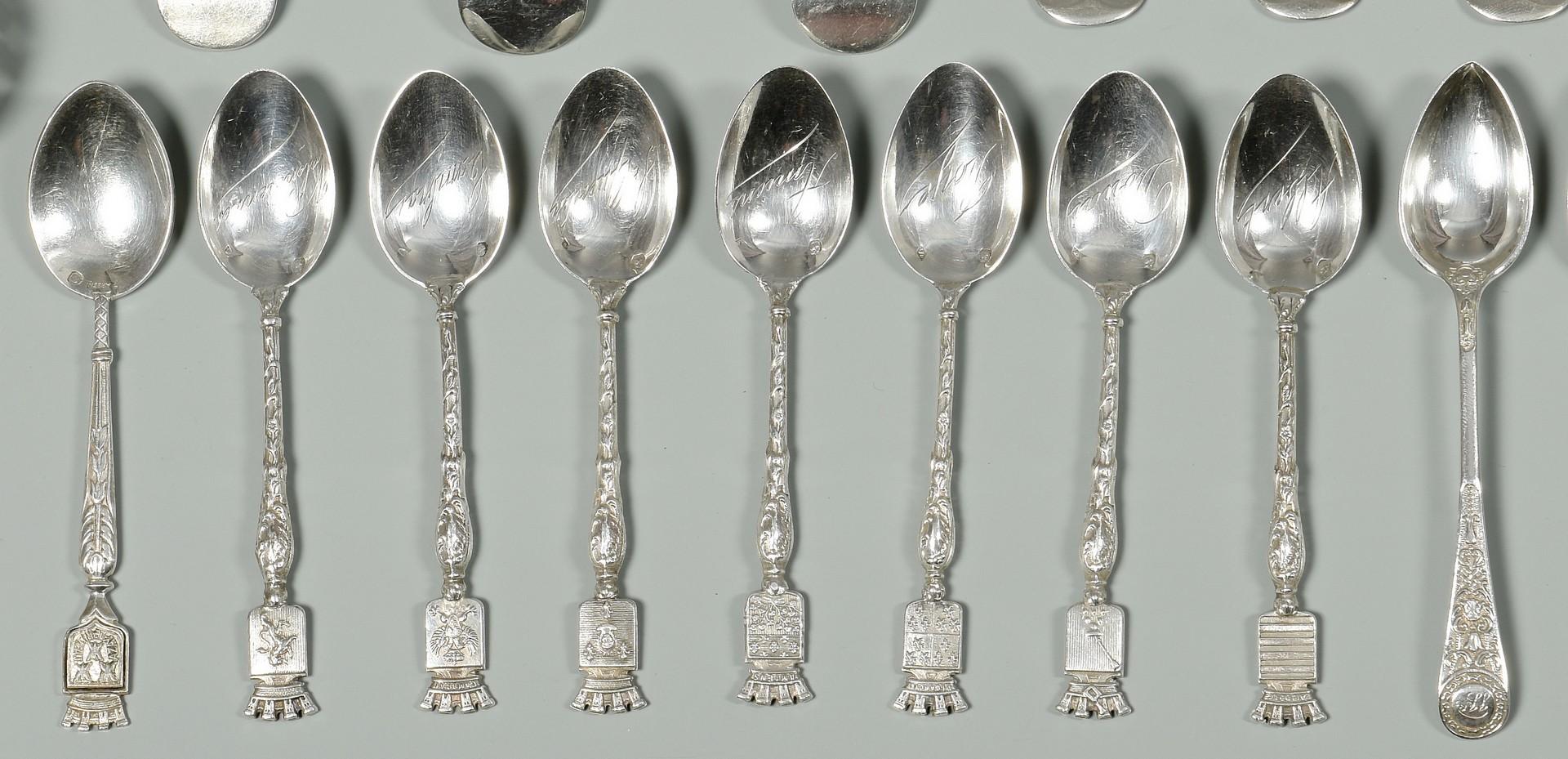 Lot 340: Assorted World Silver inc. Irish