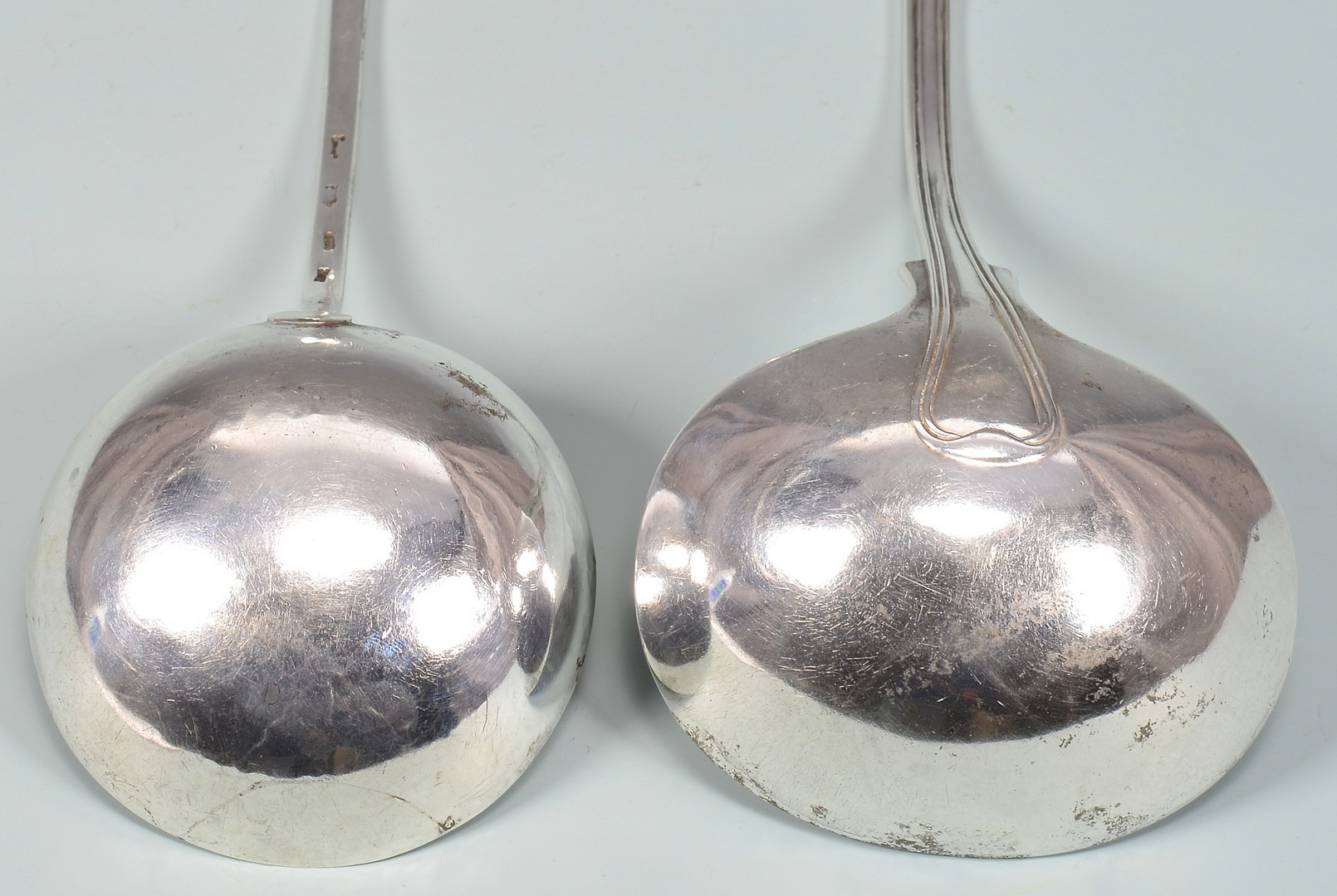 Lot 342: 2 Silver Ladles, American & English
