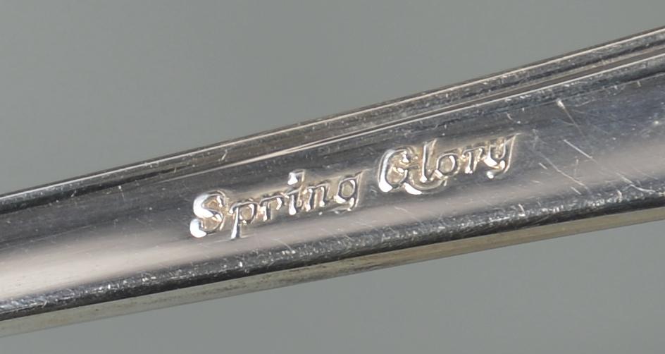 "Lot 352: International ""Spring Glory"" flatware, 84 pcs"