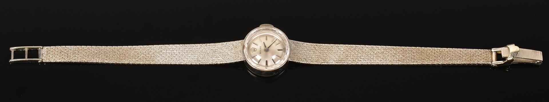 Lot 388: 14K Vintage Ladies Rolex Dress Watch