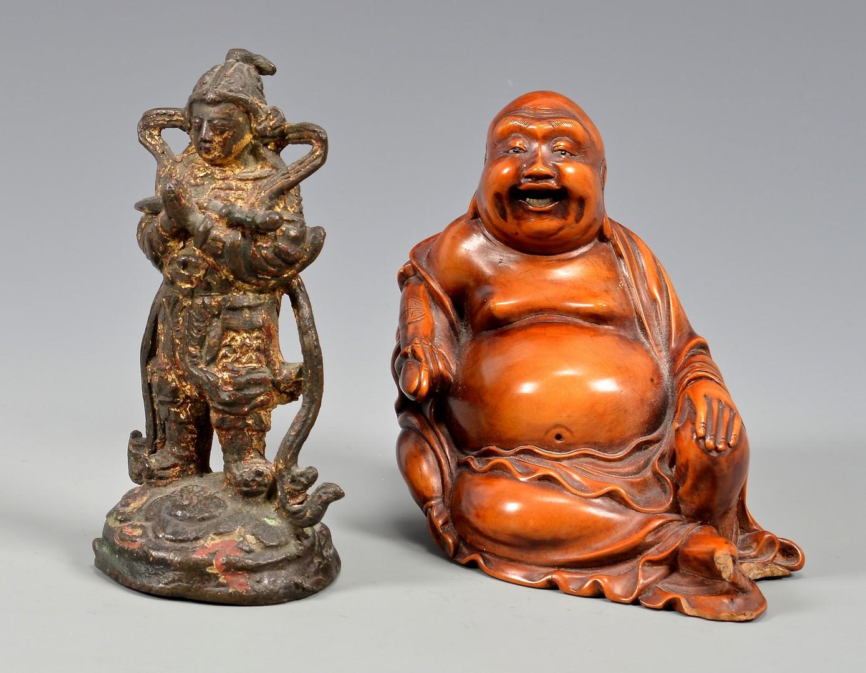 Lot 393: Group Asian Decorative Items, 7 pcs.