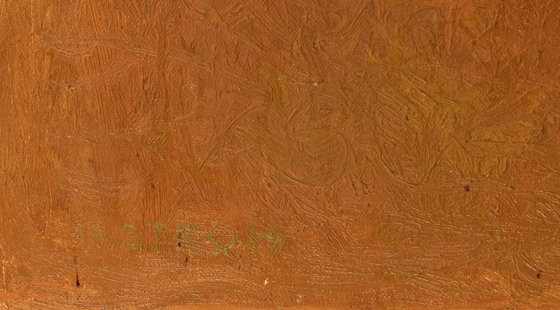 Lot 426: Earl Stroh Impressionist Landscape