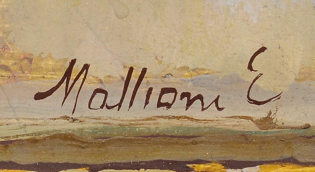 Lot 427: Eszter Mattioni oil on board