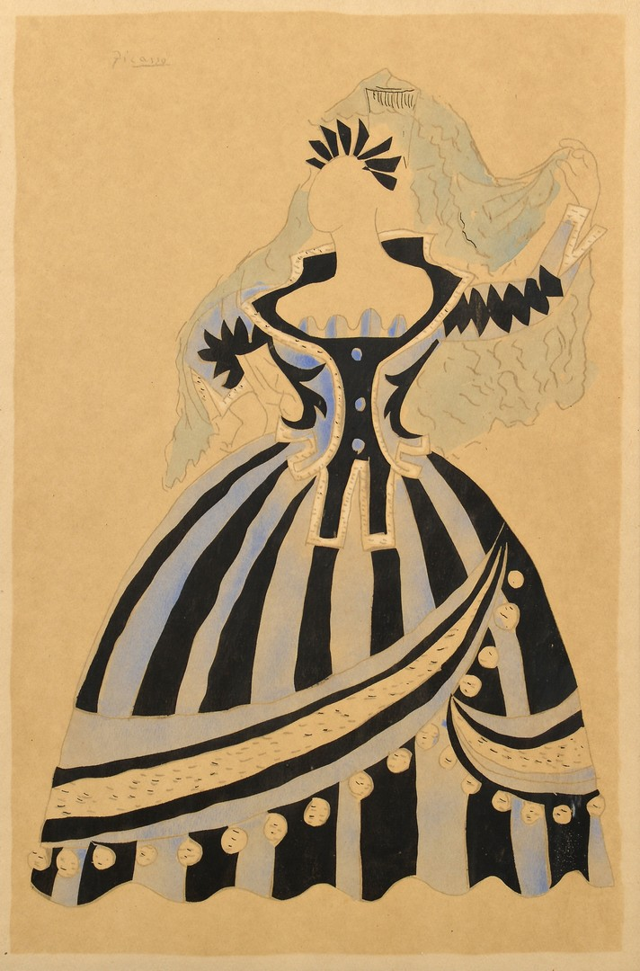 Lot 433: Picasso Pochoir, Ballets Russes