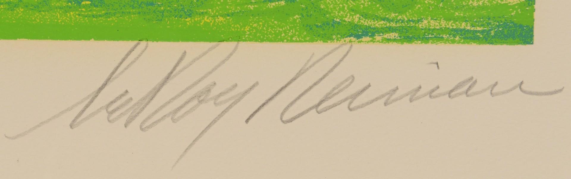 Lot 436: LeRoy Neiman Serigraph, Olympics Opening Ceremony