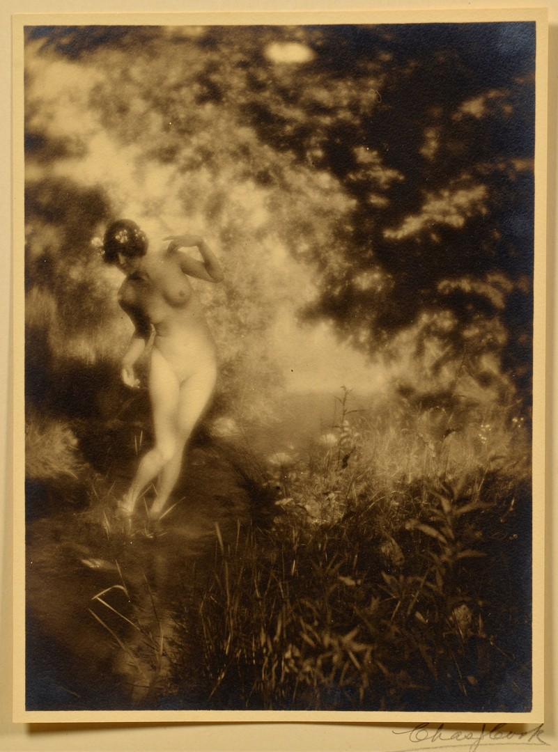 Lot 441: Charles J. Cook Gelatin Prints, Nudes