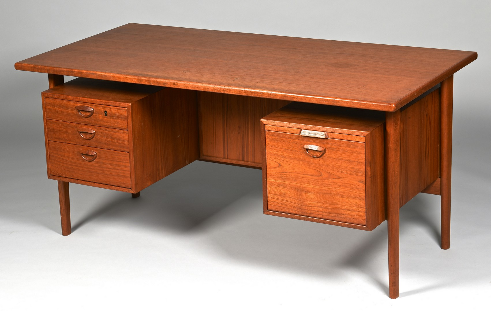 Lot 444: Kai Kristiansen Danish Modern Desk