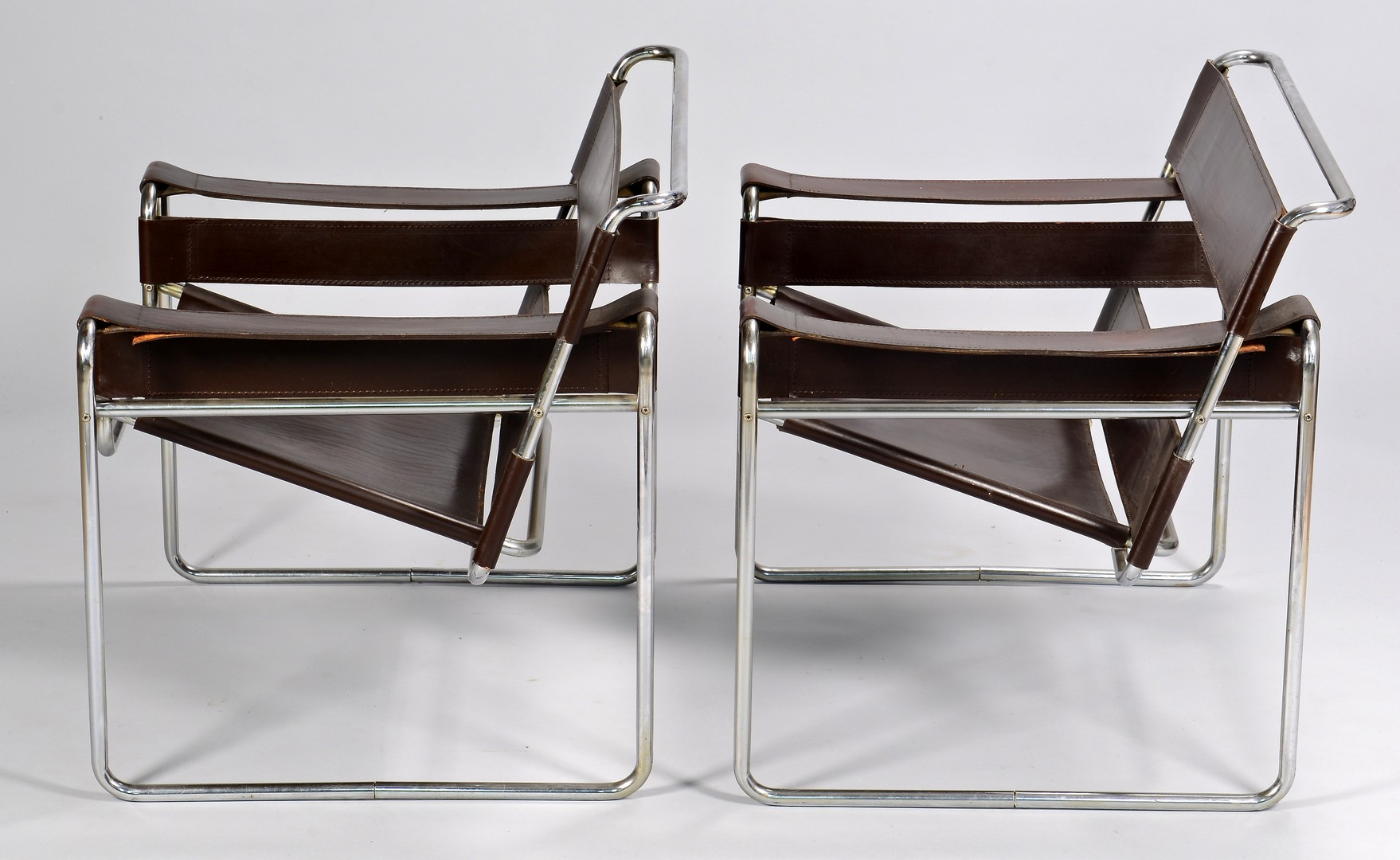 Lot 446: Pair of Wassily Style Chairs