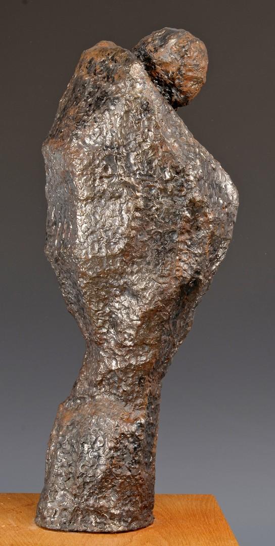 Lot 452: Abstract metal sculpture