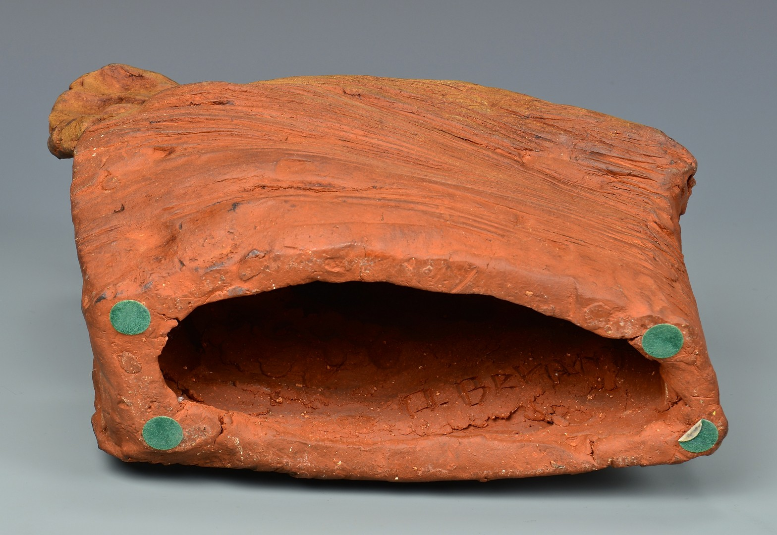 Lot 460: Olen Bryant ceramic sculpture