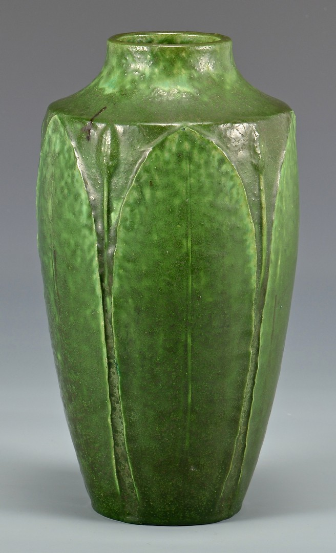 Lot 462: Grueby Faience Company Art Pottery Vase