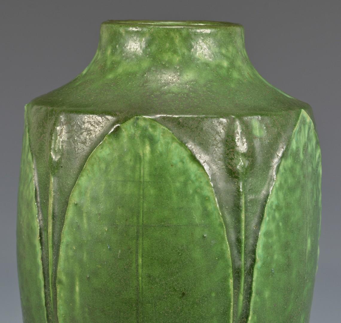 Lot 462: Grueby Faience Company Art Pottery Vase
