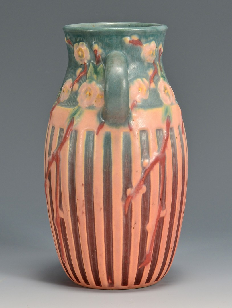 Lot 467: Roseville Cherry Blossom Vase