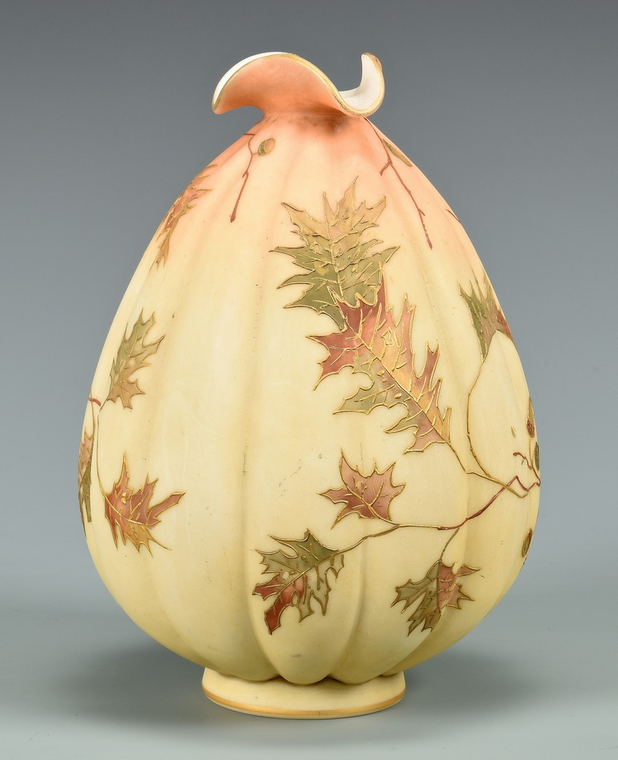 Lot 468: Mt. Washington Crown Milano Vase