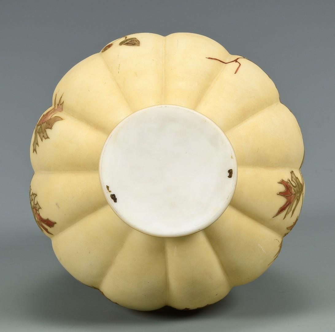 Lot 468: Mt. Washington Crown Milano Vase