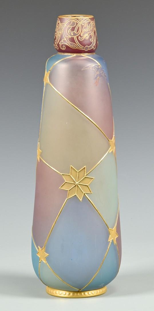 Lot 469: Mt. Washington Royal Flemish Vase
