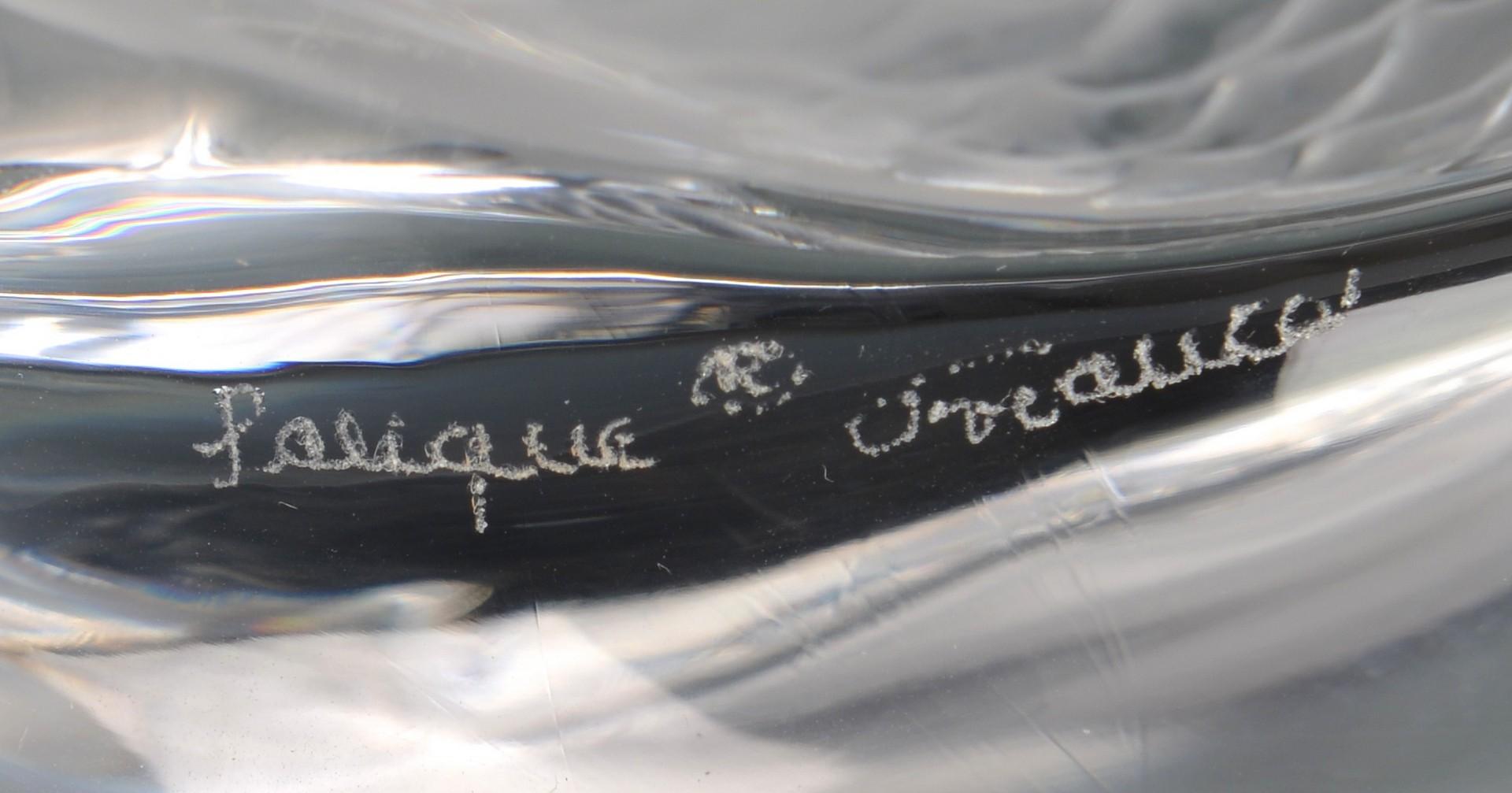 Lot 476: Lalique Pisces Sculpture, Deux Poissons